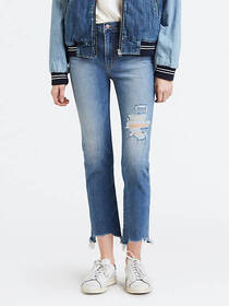 Levi's 724 High Rise Straight Crop Women's Jeans