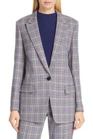 BOSS Kocani Houndstooth Check Suit Jacket