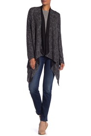 Papillon Contrast Lined Knit Cardigan