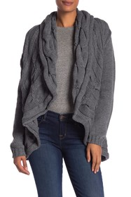 Papillon Large Cable Knit Sweater