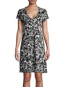 Lord & Taylor Floral-Print Cotton Sleepshirt WILLO