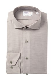 Lorenzo Uomo Regular Fit Textured Heather Dress Sh
