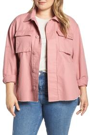 Levi's Levi's(R) High/Low Shirt Jacket (Plus Size)