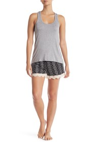 Tart Margeaux Tank & Shorts Pajama 2-Piece Set