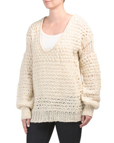 FREE PEOPLE Chunky Pullover Sweater