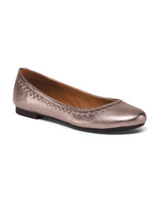 FRYE & CO Leather Stitched Flats