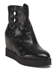 FORMENTINI Made In Italy Leather Booties