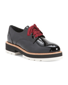 NAPOLEONI Made In Italy Patent Leather Oxfords
