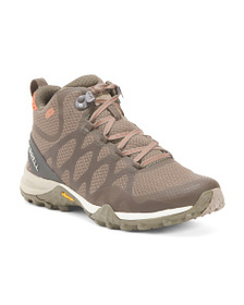 MERRELL Waterproof Mid Hiker Shoes