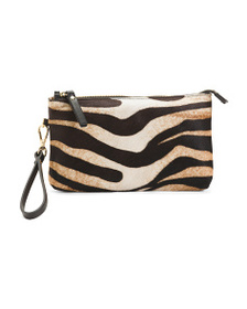 CAVALCANTI Made In Italy Zebra Haircalf & Leather