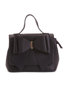 LIKE DREAMS Bow Front Convertible Satchel