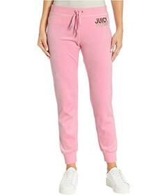 Juicy Couture Juicy Multi Bling Velour Zuma Pants