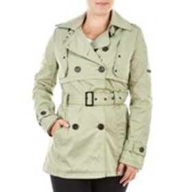 XOXO Juniors Double Breasted Trench With Belt and