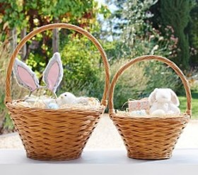 Pottery Barn Natural Sabrina Easter Baskets