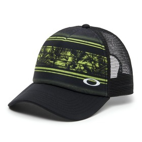 Oakley Mesh Sublimated Trucker Hat - Lime Green