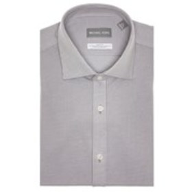 Mens Slim Fit Striped Dress Shirt