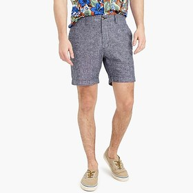 "J. Crew Factory 7"" Reade linen-cotton short"