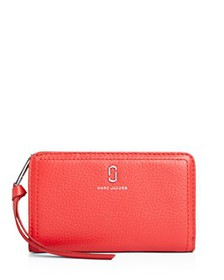 MARC JACOBS - Medium Leather Compact Wallet