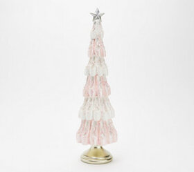 "16.5"" Glittered Ballet Slipper Tree by Valerie - H"