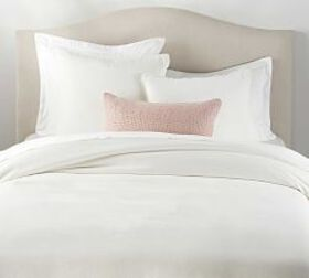 Pottery Barn Velvet Fringe Duvet & Shams - Clasic