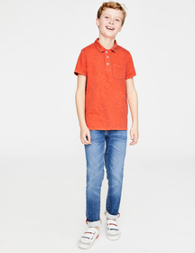 Boden Garment-dyed Jersey Polo