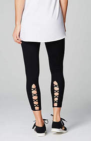 Fit Out & About Laced-Back Leggings