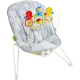 Fisher-Price Bouncer, Geo Meadow with Removable To