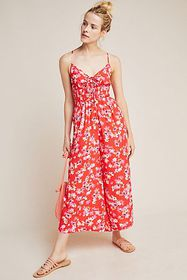 Anthropologie Yumi Kim Funday Floral Jumpsuit