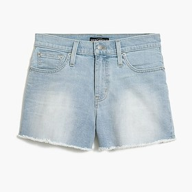 J. Crew Factory High-rise cutoff boy short