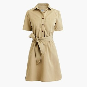 J. Crew Factory Utility shirtdress