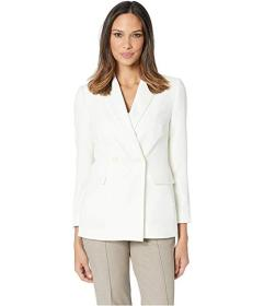 Vince Camuto Parisian Crepe Double-Breasted Jacket