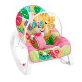 Fisher-Price Infant-To-Toddler Rocker, Teal Safari