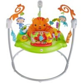 Fisher-Price Tiger Time Jumperoo with Music, Light