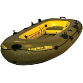 ANGLER BAY Inflatable Boat, 4 person