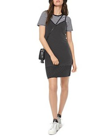 MICHAEL Michael Kors - Studded Jersey Mini Dress