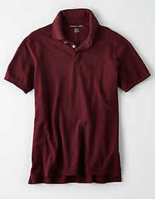 American Eagle AE Brushed Pique Polo Shirt