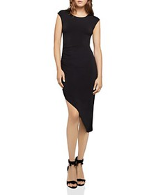 BCBGENERATION - Asymmetric Ruched Dress