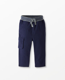 Hanna Andersson Playground Canvas Pants in Navy -