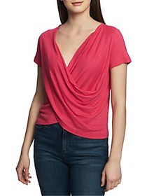 1.STATE Bloom Wrap Top ISLAND