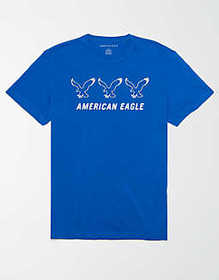 American Eagle AE Reflective Graphic T-Shirt