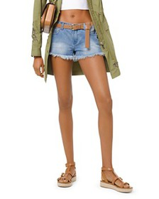 MICHAEL Michael Kors - Cutoff Denim Shorts in Ange