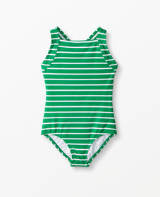 Hanna Andersson Sunblock One Piece in Go Green - m