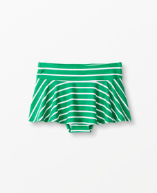 Hanna Andersson Sunblock Swim Skirt in Go Green -