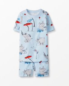 Hanna Andersson Dr. Seuss Short John Pajamas In Or