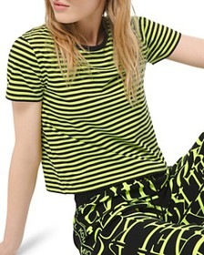 MICHAEL Michael Kors - Striped Jersey Tee