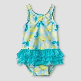 Baby Girls' Tutu One Piece Swimsuit - Cat & Jack&#