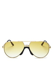 Gucci - Women's Aviator Sunglasses, 60mm
