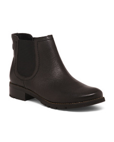 SOFFT Leather Ankle Chelsea Booties