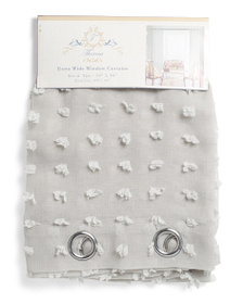 COUNTRY ROSE 54x84 Set Of 2 Embroidered Linen Look