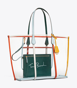 Tory Burch PERRY CLEAR OVERSIZED TOTE